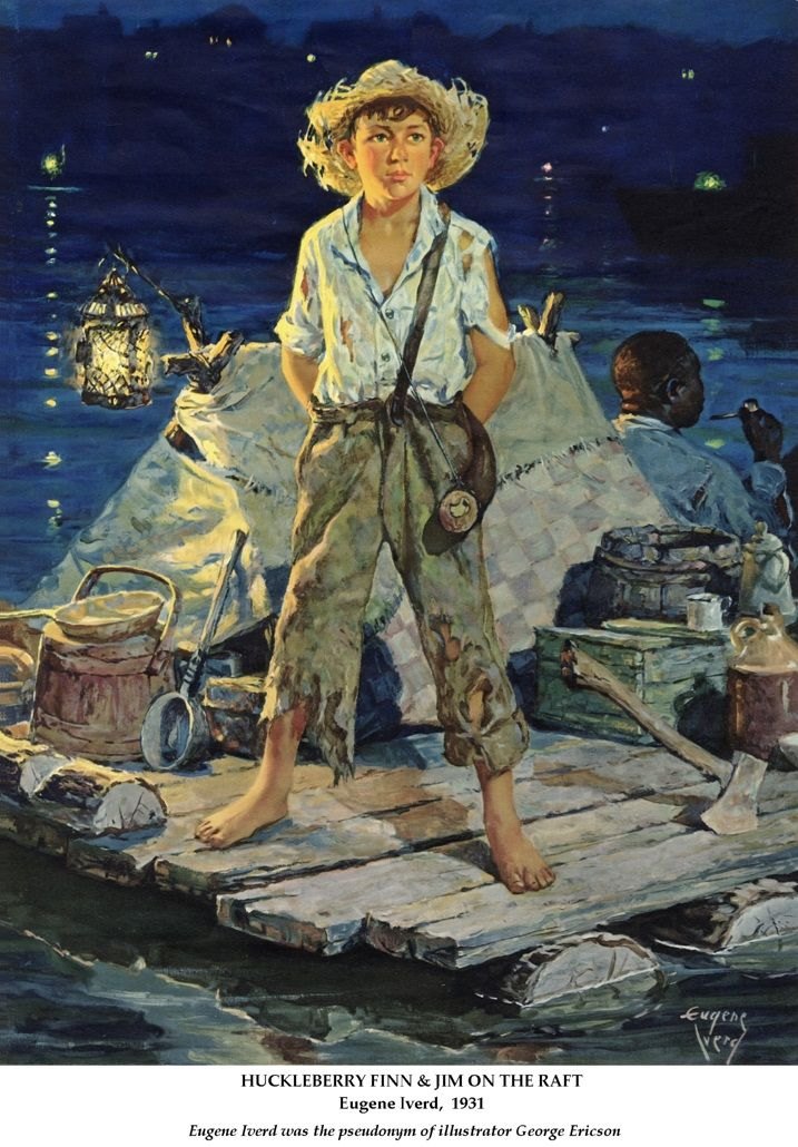 An analysis of the character huck in the adventures of huckleberry finn by mark twain