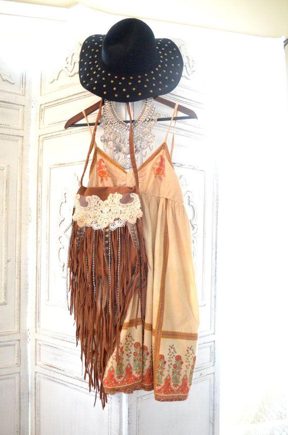 Coachella Slip dress, Boho dresses, Bohemian gypsy sundress, Hippie chic clothing, Spring Music Festival Clothing, True rebel clothing Lg