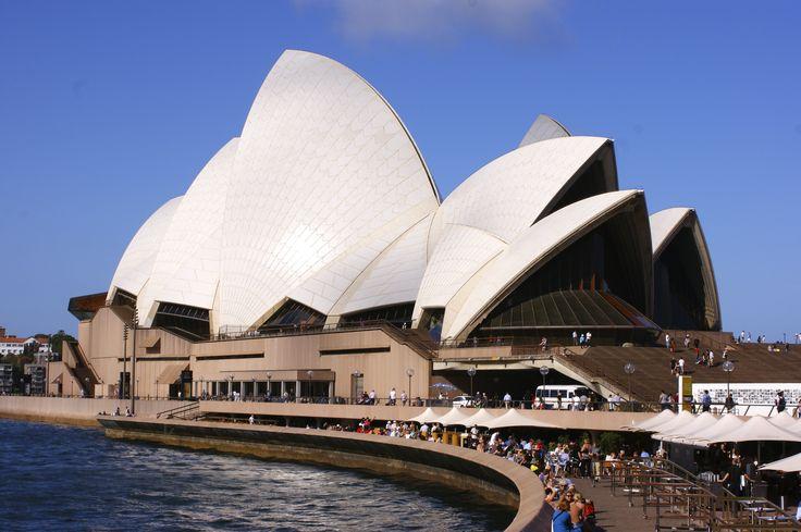 L'Opéra de Sydney, un symbole et probablement le monument le plus célèbre du pays.