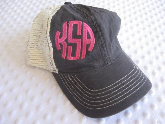 I love this item! It is so fun to have this in my shop. I can tell this is a treat that people buy for themselves. That makes me happy:)  The preppy trucker hat by ThePickleTree on Etsy, $20.00