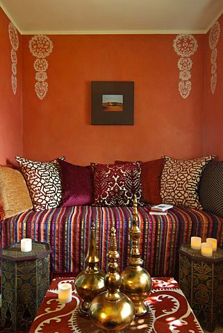 25 :: Morrocan-style Luxury Home Rental in Montecito Paradise Retreats #FashionYourHome
