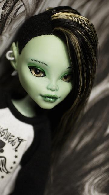 Monster High Venus McFlytrap ooak doll by i1473