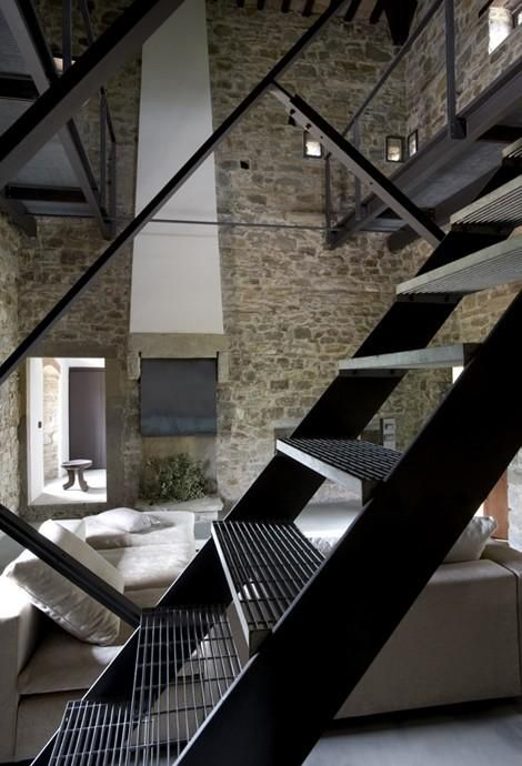 Very Small Luxury Hotels  Luxury Boutique Hotels  Loft StairsMetal  Best 25  Metal stairs ideas on Pinterest   Stairs  Industrial  . Outdoor Metal Staircase Design. Home Design Ideas