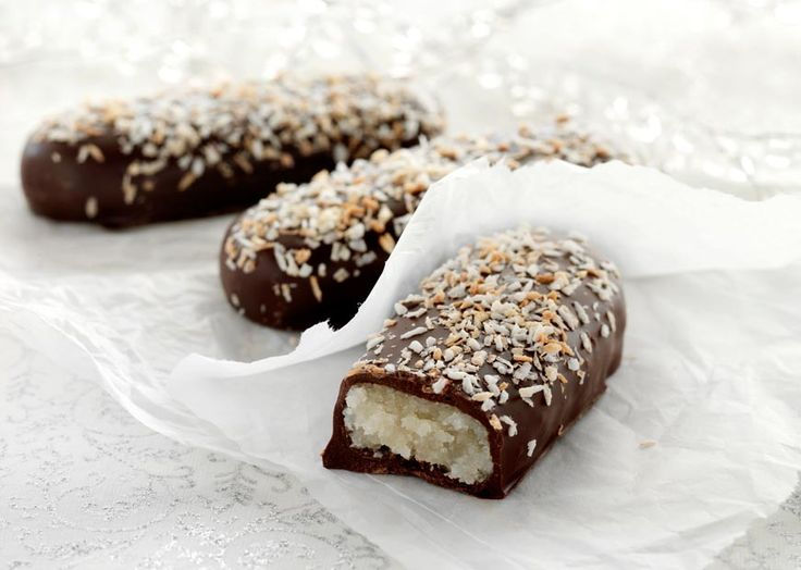 Små kokosbrød - Odense Marcipan