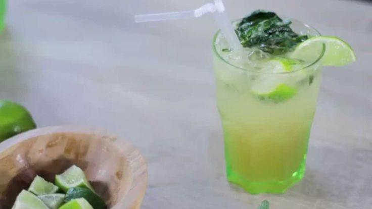 Découvrez une variante du fameux #Mojito, avec une #recette sans alcool à base de pommes pour la touche de fraîcheur.