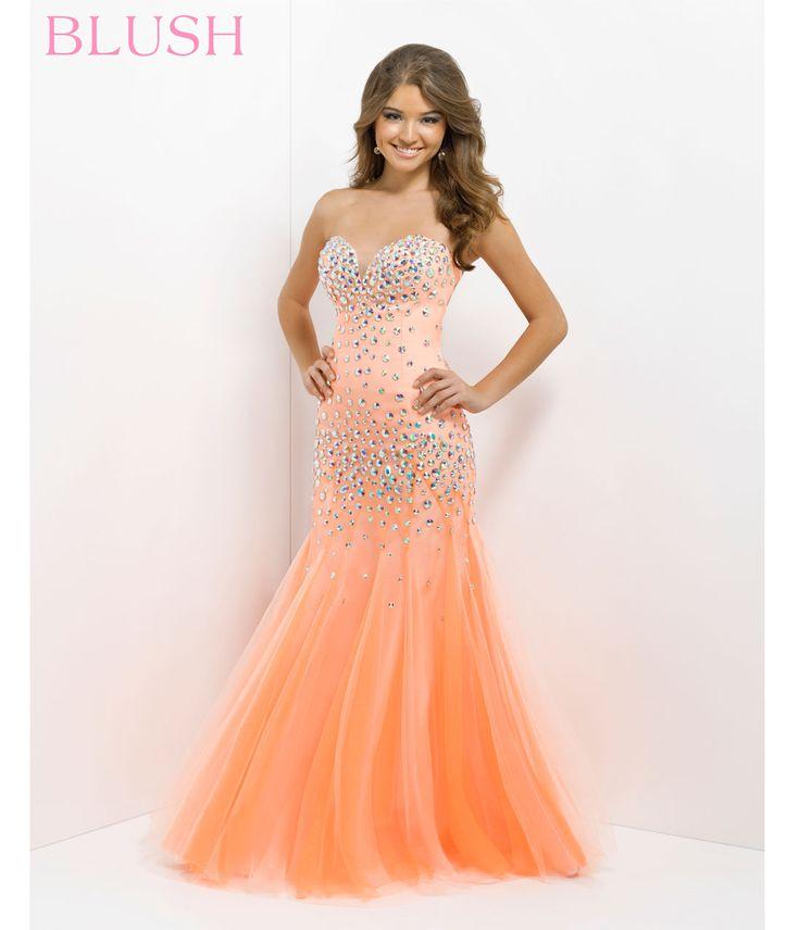 Tangerine Mermaid Dress