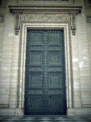 The Pantheon is a magnificent ancient temple in Rome that was later converted into the church of Santa Maria ad Martyres. The bronze doors leading into the ... & 210 best Doors of Italy images on Pinterest | French doors ...