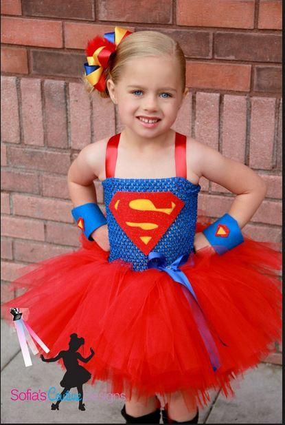 Super girl tutu costume