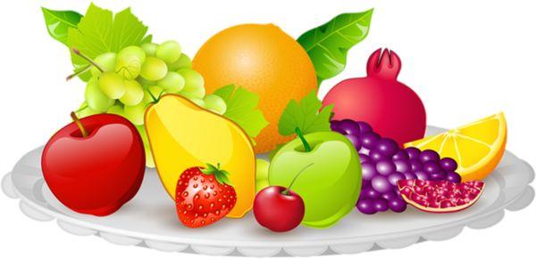 Różne owoce półmisek