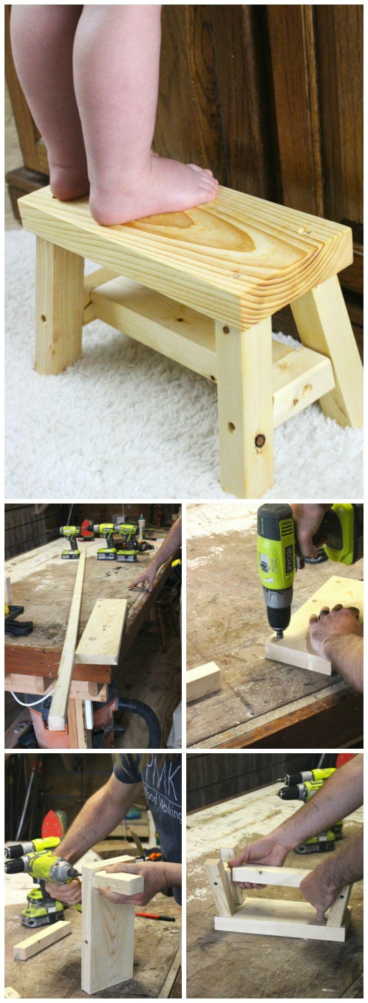 Porches decks patios delta c construction inc - Children S Step Stool Diy
