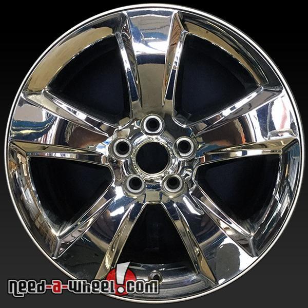 "2011-2013 Jeep Compass oem wheels for sale. 18"" Chrome stock rims 9117 http://www.need-a-wheel.com/rim-shop/18-jeep-compass-oem-wheels-rims-chrome-9117/ , #oemwheels, #factorywheels"