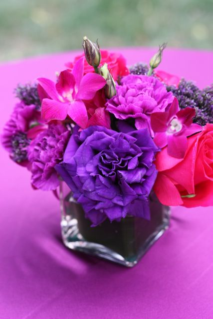 17 best images about purple pink weddings on pinterest for Purple coffee table