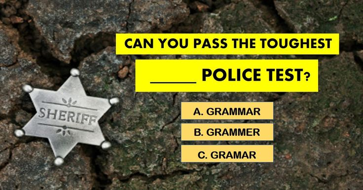 Almost No One Can Pass The TOUGHEST Grammar Police Test! Can You? | I passed!!