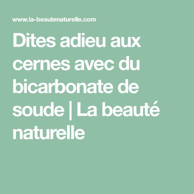 Dites adieu aux cernes avec du bicarbonate de soude | La beauté naturelle