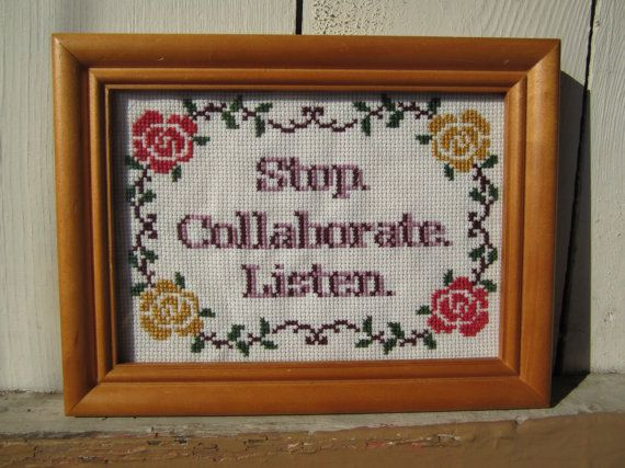 PATTERN Stop Collaborate Listen Vanilla Ice Ice by stephXstitch