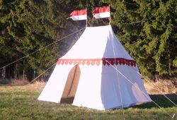 Period Tents and Medieval Pavilions | FamWest natural tents for sale