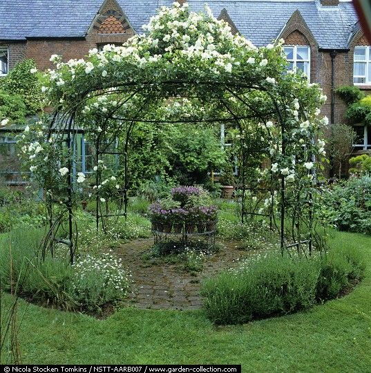 agriframes make similar arbours this is probably one of theirs find this pin and more on garden design with circles