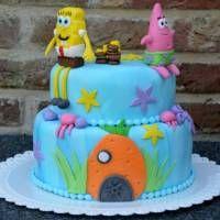 » Spongebob taart -