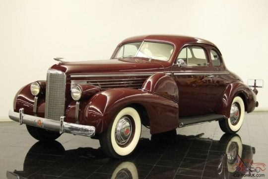 If you couldn't quite run to a Cadillac, this 1938 La Salle 38-50 Opera Coupé would do very nicely. One of the last La Salles made and running the same V8 322 cu in engine as the contemporary Cadillacs. The last model was in 1940 and was replaced by the Cadillac 61 series.