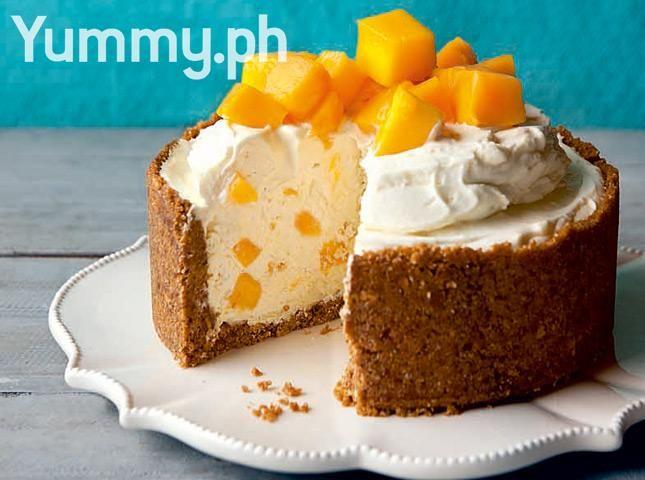 No-Bake White Chocolate Mango Cheesecake Recipe