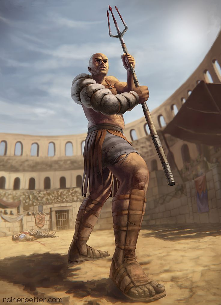 Gladiator by rainerpetterart.deviantart.com on @deviantART