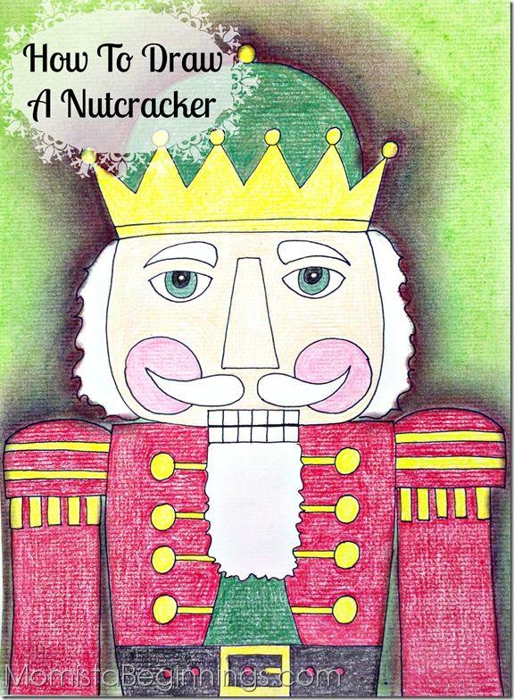 How to draw a Nutcracker
