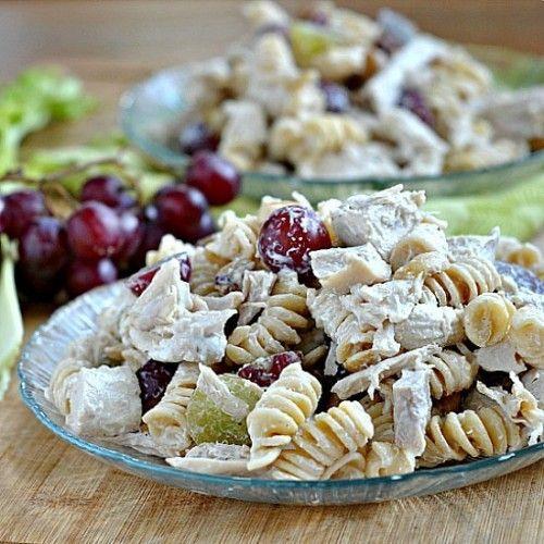 Cashew Chicken and Pasta Salad Recipe
