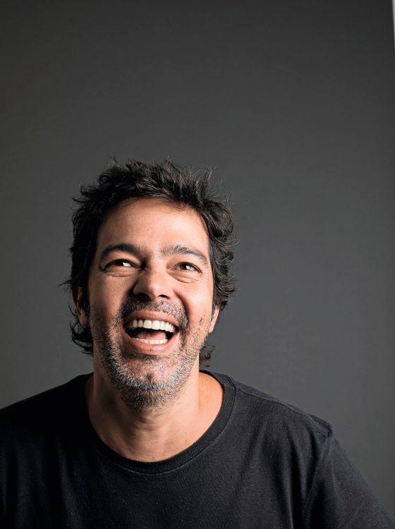 """O ator e autor Bruno Mazzeo, sobre 'Filhos da pátria': """"Fico pensando em como seria a gente naquele tempo"""" (Foto: Jorge Bispo)"""