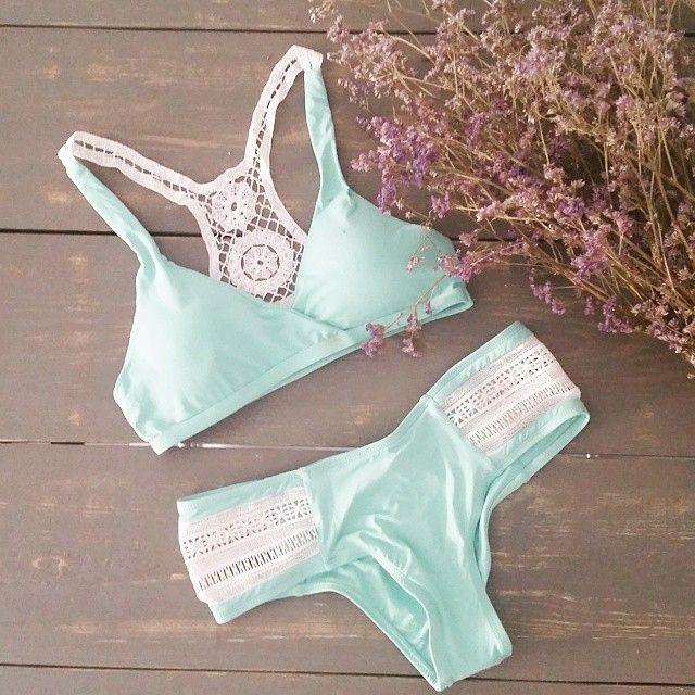 How to get a bikini body? 1) Put a b kini on your body  ! Bikini Top €7, Bikini Bottoms €5. Image credit: @elenita666 #Primark #swimwear