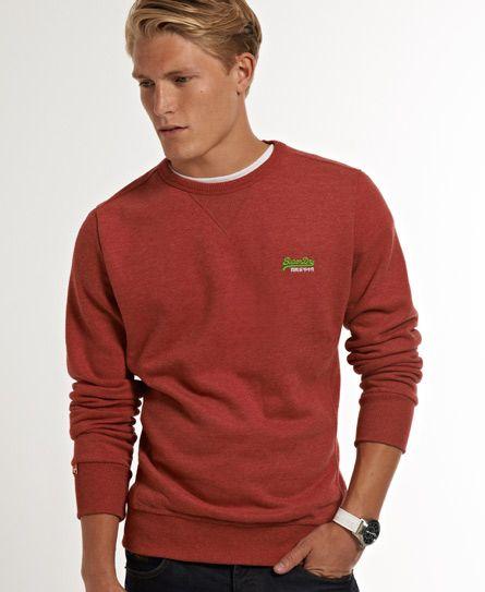 Superdry Suéter de cuello redondo