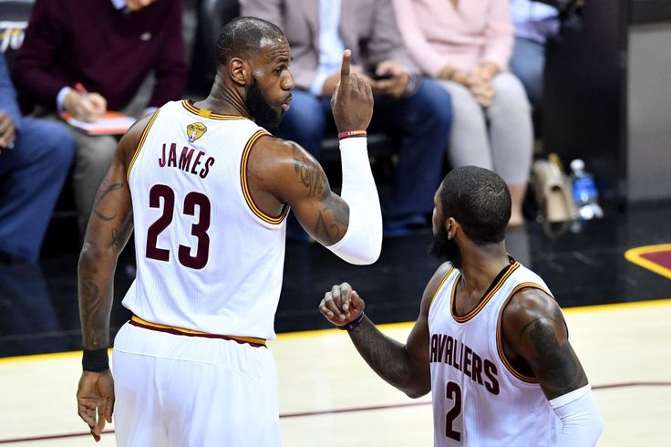 Did LeBron James Leak Kyrie Irving's Cavs Trade Request? He Thinks So