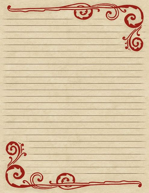 Lined Paper With Borders Printable Printable Pen And Ink