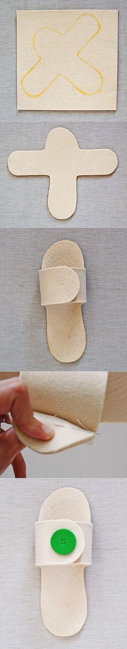 (+1) - Тапочки для гостей | СВОИМИ РУКАМИ | своими руками | Постила