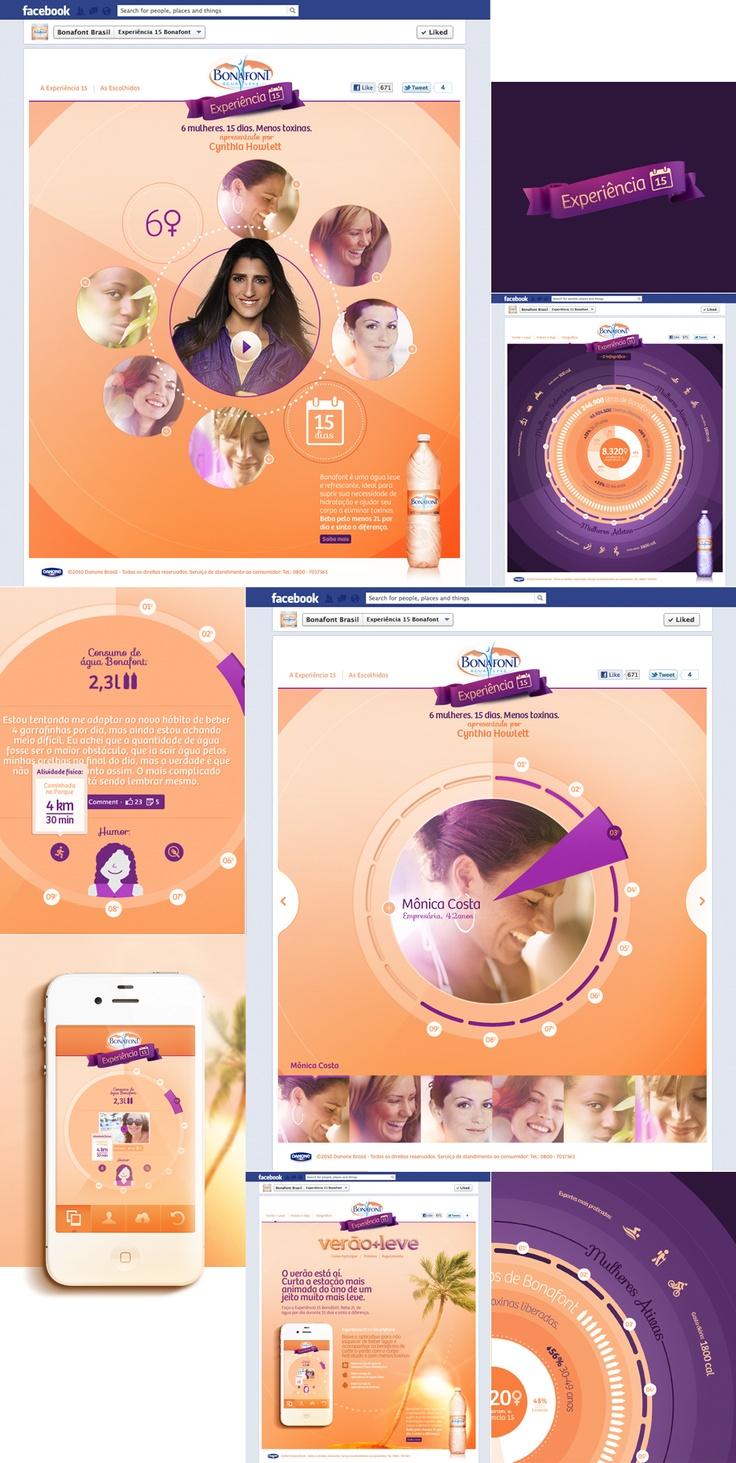 Brazilian Art Director #design #facebook #app #apps