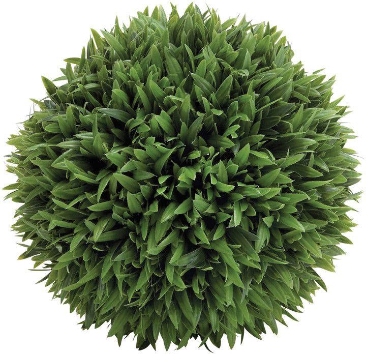 """UMA Inc Plastic Grass Ball 13""""D"""