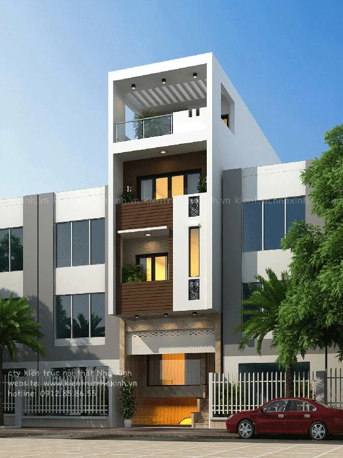 Contemporary Row House Design Precedent In 2019 House