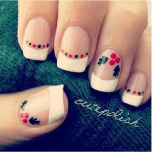 Christmas nails + Información sobre nuestro #curso de #maquillaje: ►…