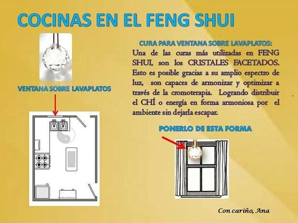 C mo armonizar tu cocina feng shui tips pinterest for Feng shui armonia familiar