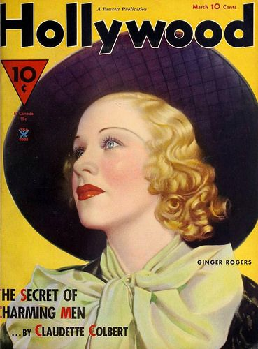 Ginger Rogers, Hollywood Magazine, March 1935 | Flickr - Photo Sharing!