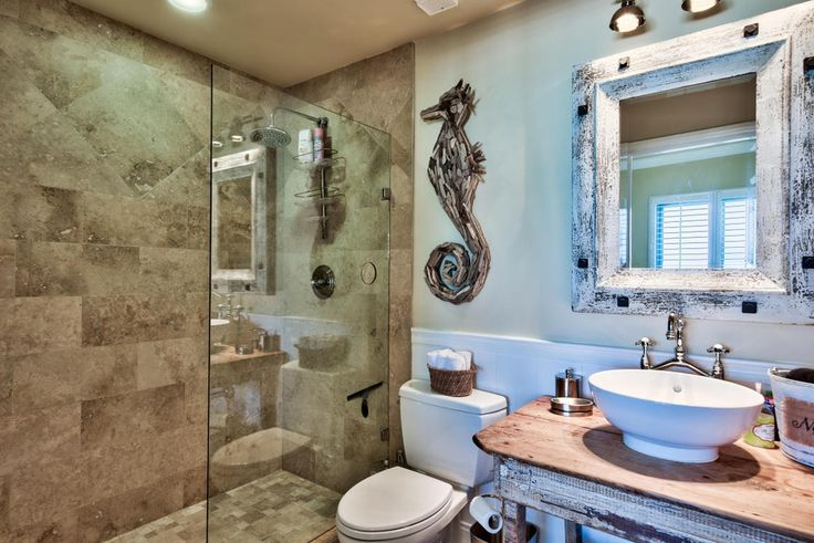 Contemporary 3 4 Bathroom With Rain Shower Go Home