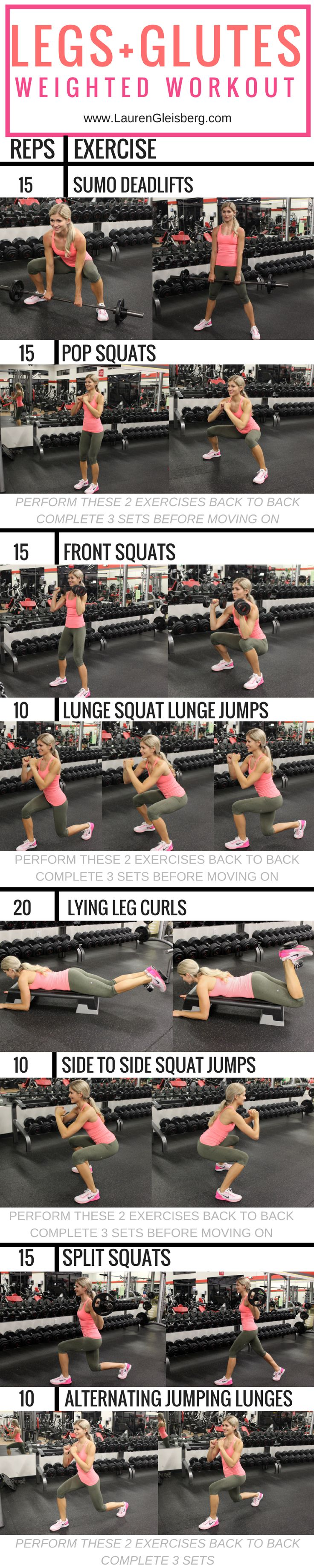 LGTeamKini Week 5 Day 1-LEGS   GLUTES WORKOUT