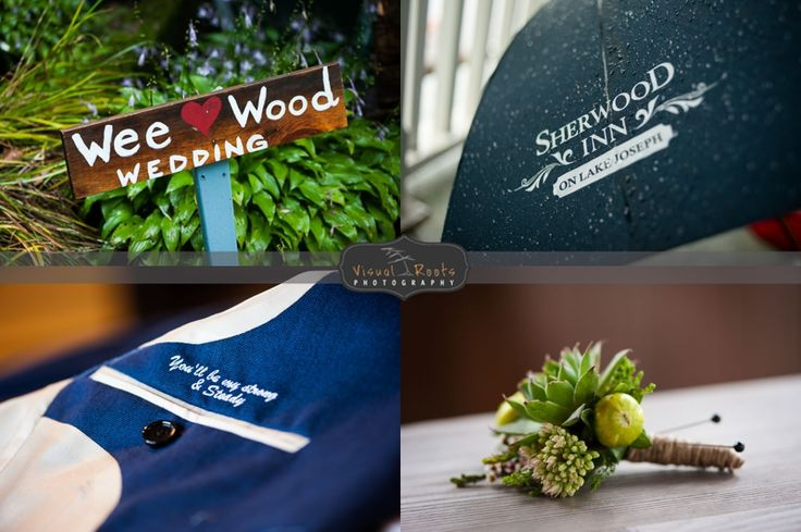 A glimpse of some of the little things captured at The Sherwood Inn