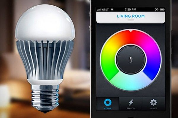 LIFX is a WiFi enabled, multi-color, energy efficient LED light bulb that you control with your iPhone or Android.