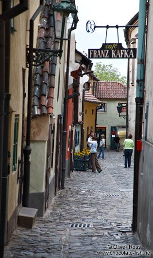 Das goldene Gässchen   Prager Burg