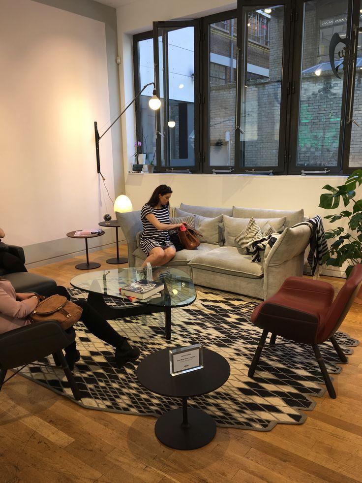 Vitra #CDW2017 #clerkenwelldesignweek #design #designinspiration #vitra #sofa #interiors #rug #coffeetable #home #decor
