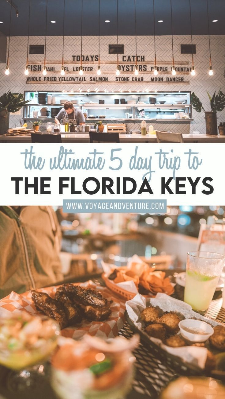 The Ultimate 5 Day Trip To The Florida Keys In 2020 Usa Travel Destinations Road Trip Florida Florida Keys