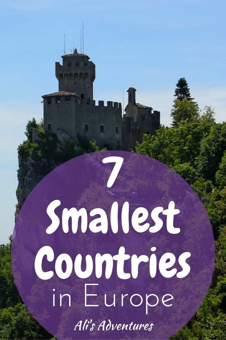 Tiny nations intrigue me. Do you know the 7 smallest countries in Europe? Here's a look at my experiences traveling to all 7 of Europe's smallest nations.
