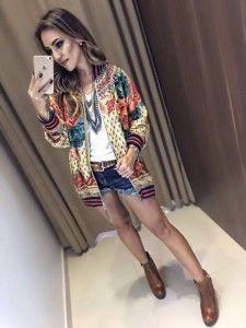 Compre Casaco - Moda Feminina na loja Estação Store com o menor preço e ande sempre na moda.