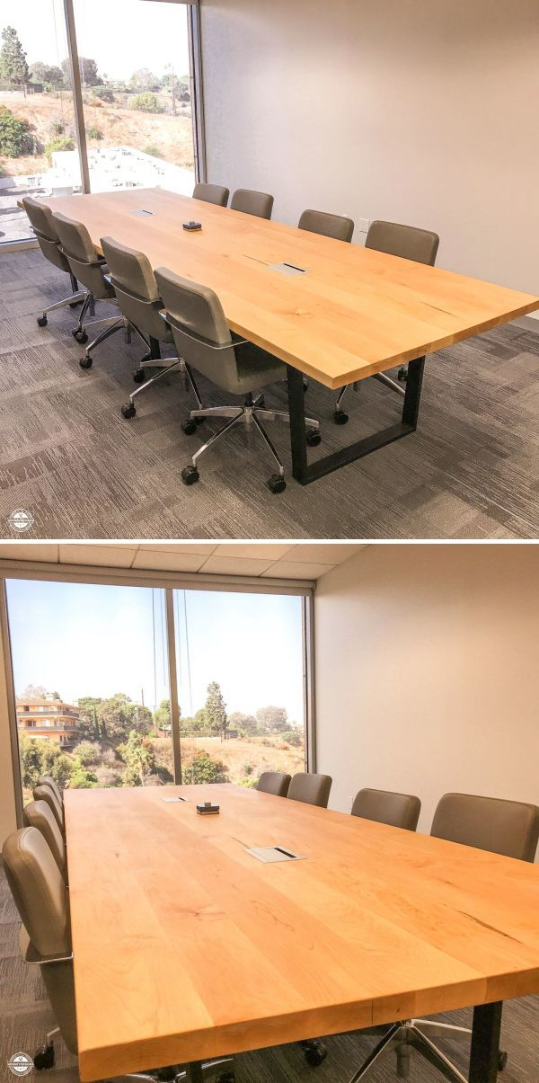Conference Room Table By Henneydesigns At 6701 Center Dr W Los Angeles Industrial Style Coffee Table Furniture Design Table