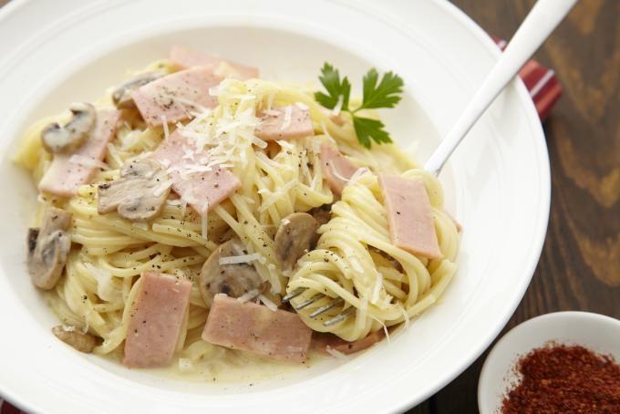Chicken and ham pasta recipes